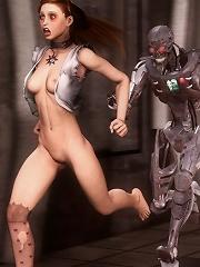 Hentai Alien first sex...