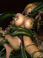 Yuri Girl fucked to orgasm...