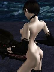 Sexy 3D Fantasy Heroine...