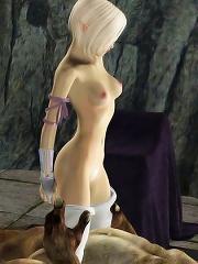 The Warcraft porn 3D...