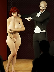 Nasty 3D Lady with lovely...