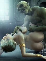 Hentai Secretary licking...