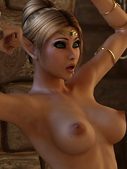 Seductive and sexy 3D...