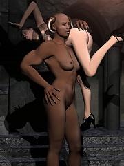 Horny 3D Porncraft Girl...