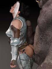 Neko-girl got banged rough...