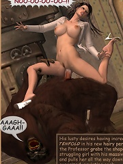 Sorceress gets railed by...