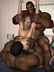Babe gets hard ass filled...
