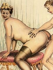 3D Sorceress licks dick...
