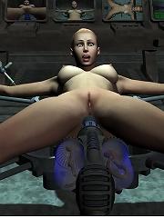 3D Maid pleasuring Driver...