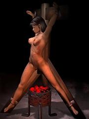 3D Neko-girl in chains was...