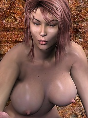 3D Peasant girl was fucked...