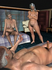 3D Harlot fucked with big...