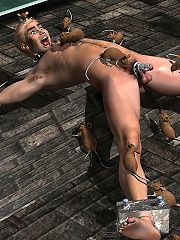 Toon Lady with amazing body...