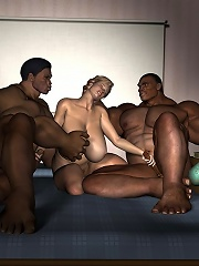 3D Belle penetrated to the...