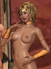Innocent Toon mistress got...