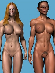3D dickgirl with sporting...