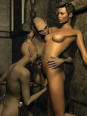 Virgin 3D Slut getting...