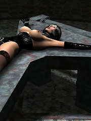 3D Whore playing with drunk...