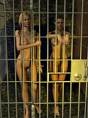 Chained 3D Priest receives...