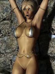 Hot Anime Sorceress gets...
